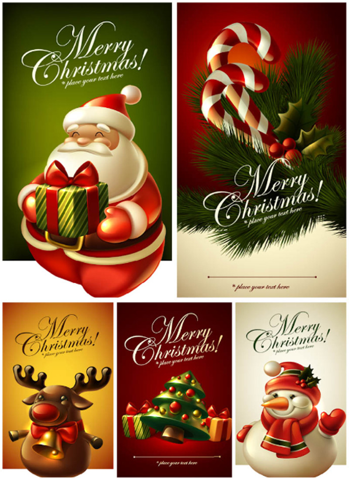 Beautiful Christmas Greeting Card