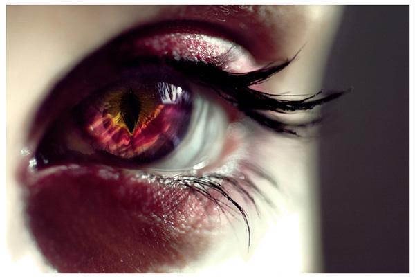Beautiful Rainbow Eye Contacts