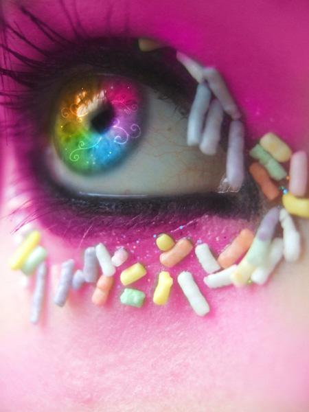 Beautiful Rainbow Eyes