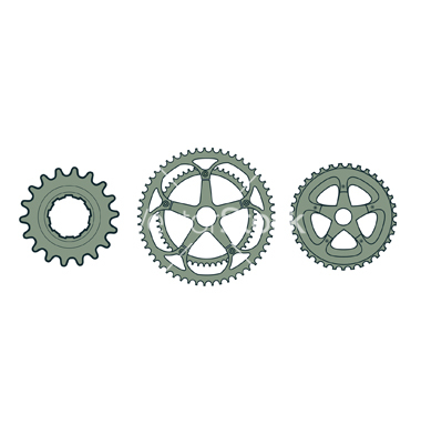 14 Bicycle Gear Vector Images