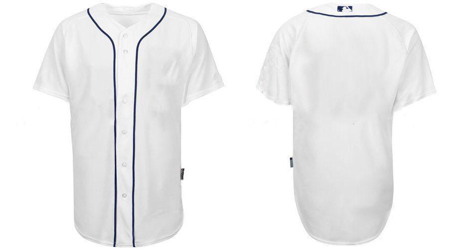 Blank Baseball Jersey Template