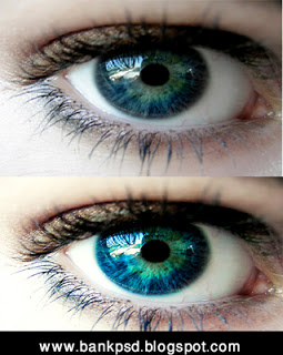 Blue Eye Photoshop Action