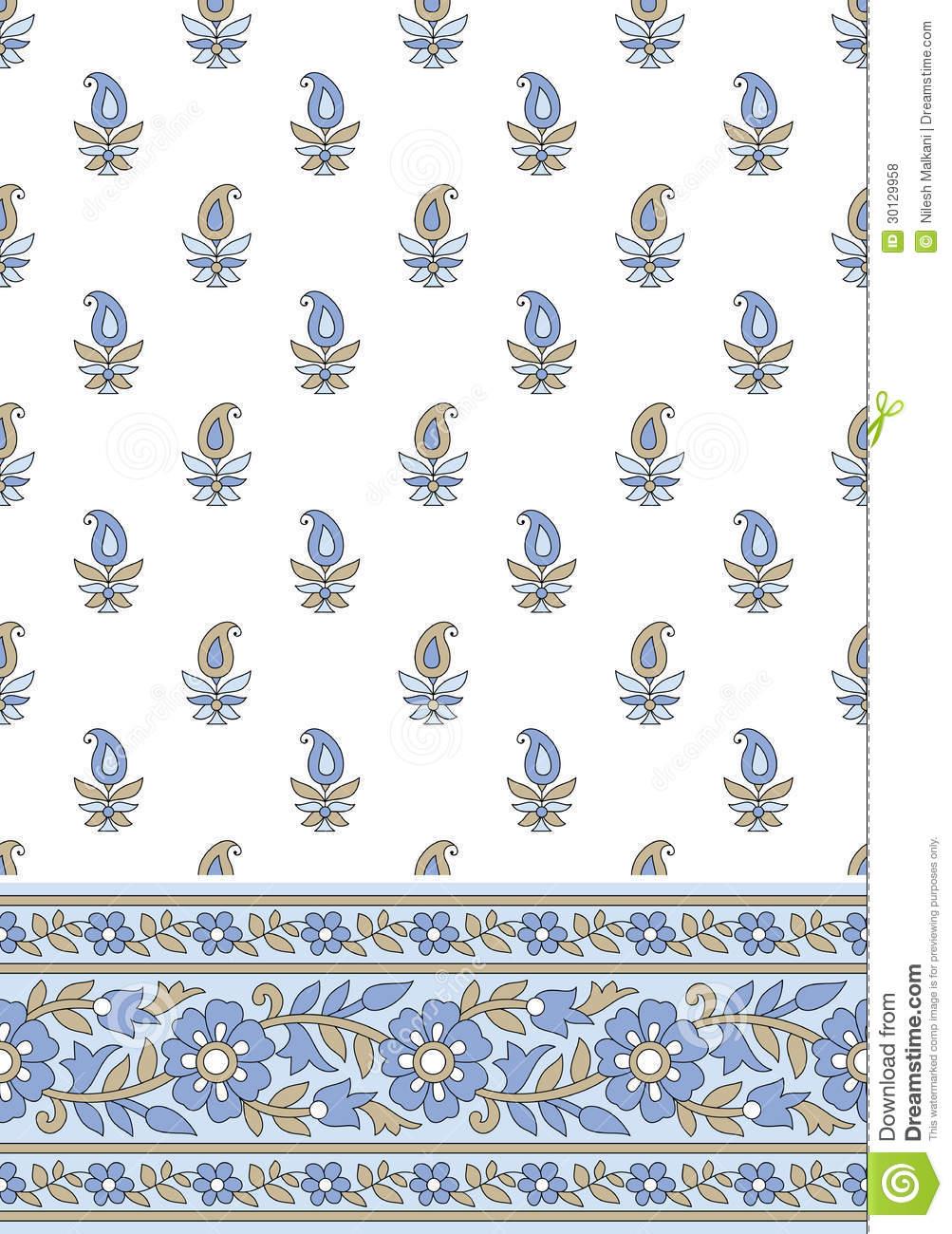 Borders Textile Designs
