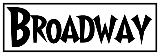 7 Broadway Font Used Images