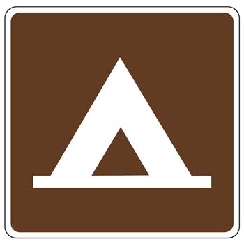 Camping Recreation Sign Symbols
