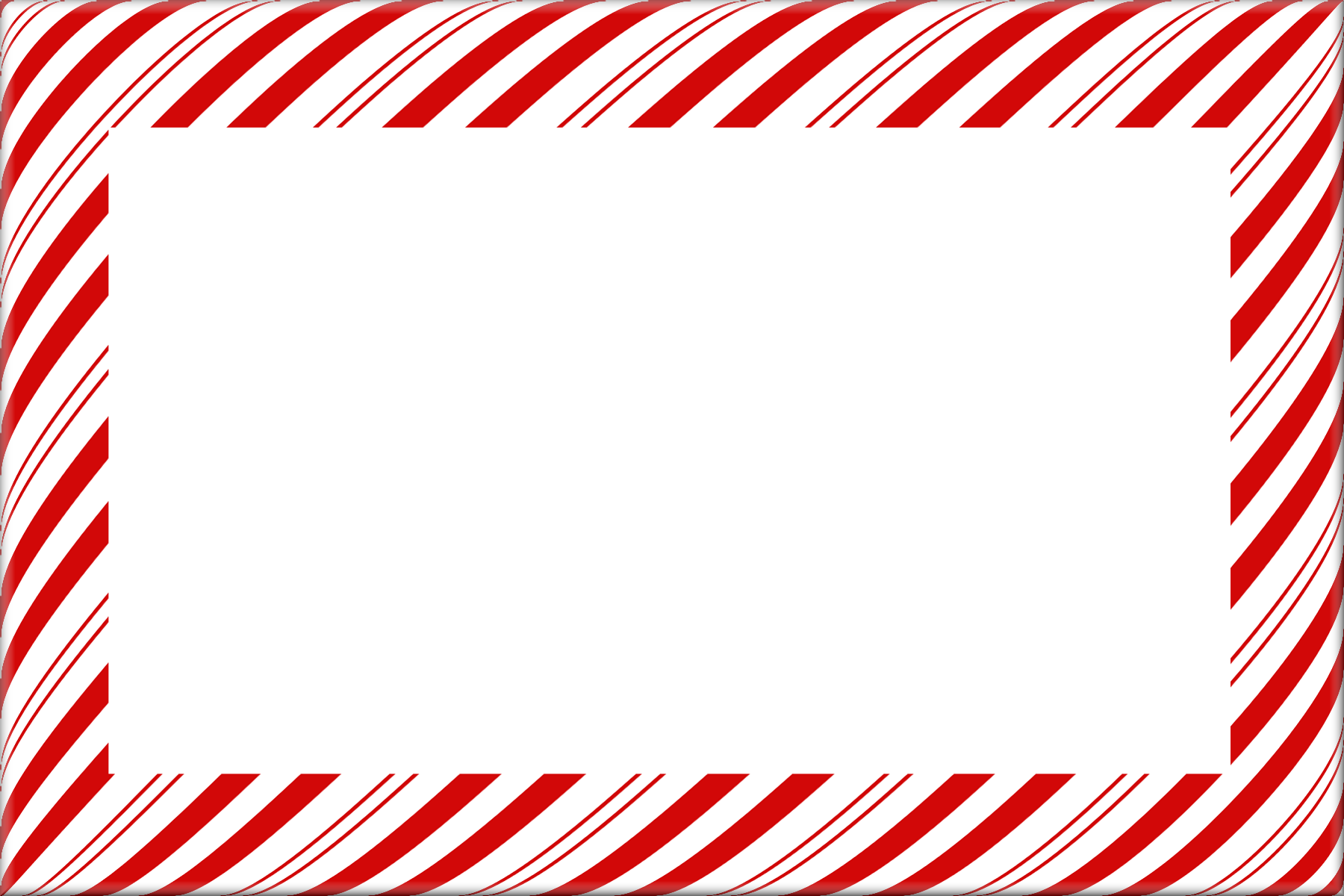 12 Candy Cane Psd Frame Images - Candy Cane Christmas Borders and ...