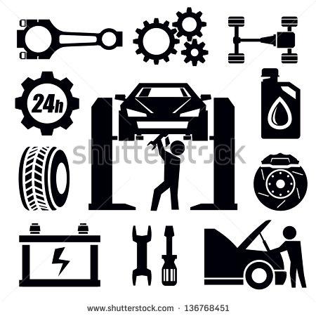 Post_auto Repair Vector Art_149007