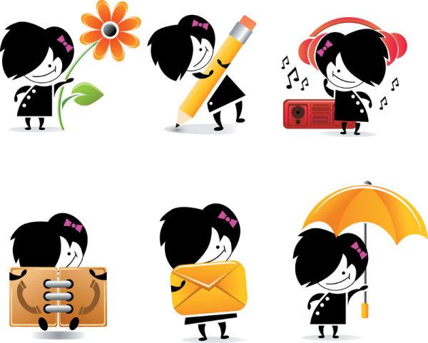 Cartoon Character Icons