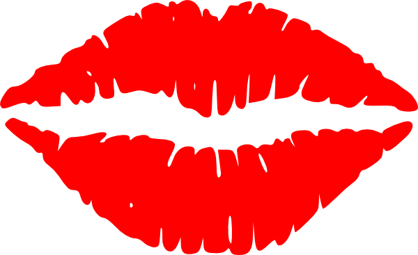 Cartoon Lips Clip Art