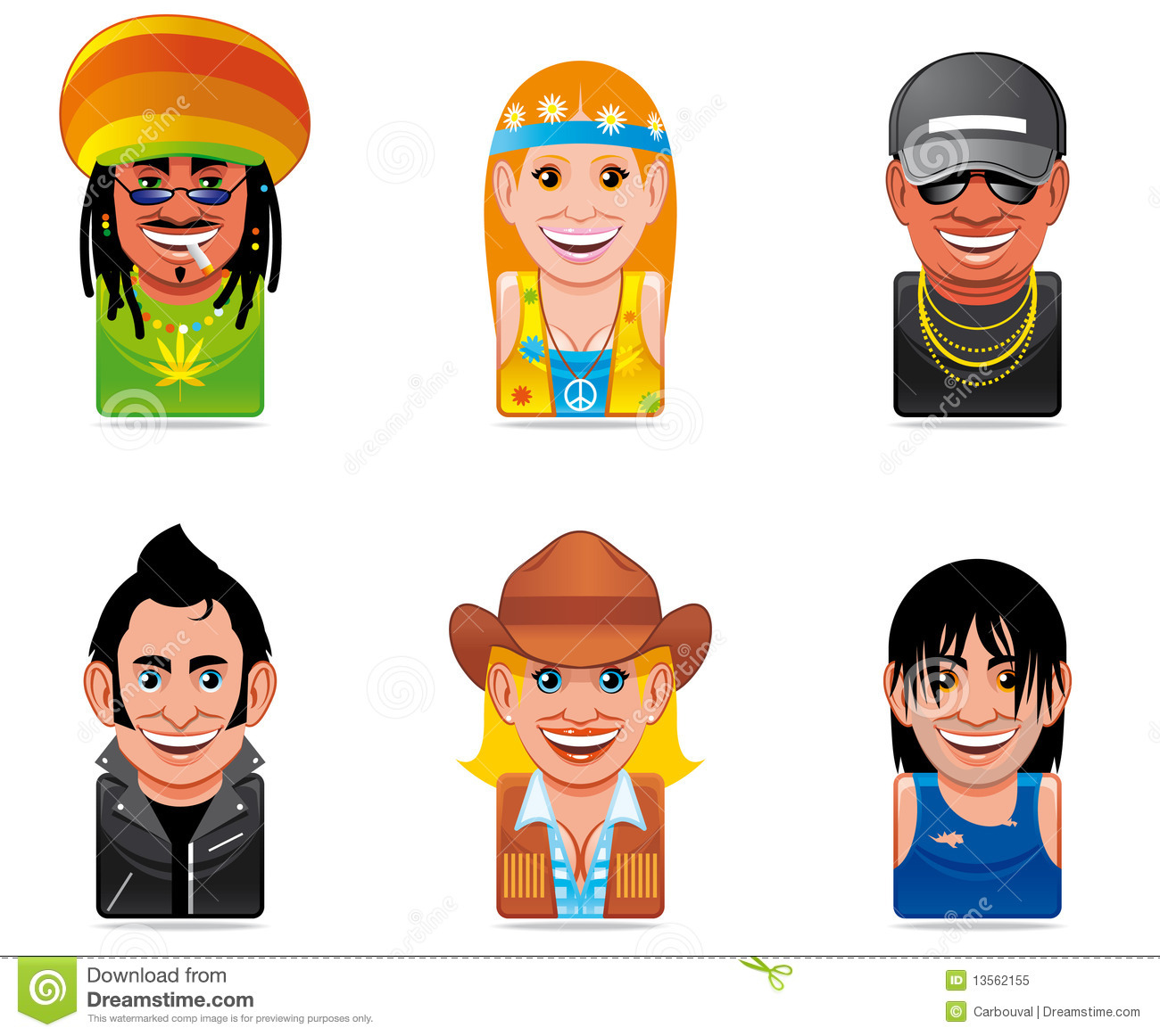 Cartoon People Icon