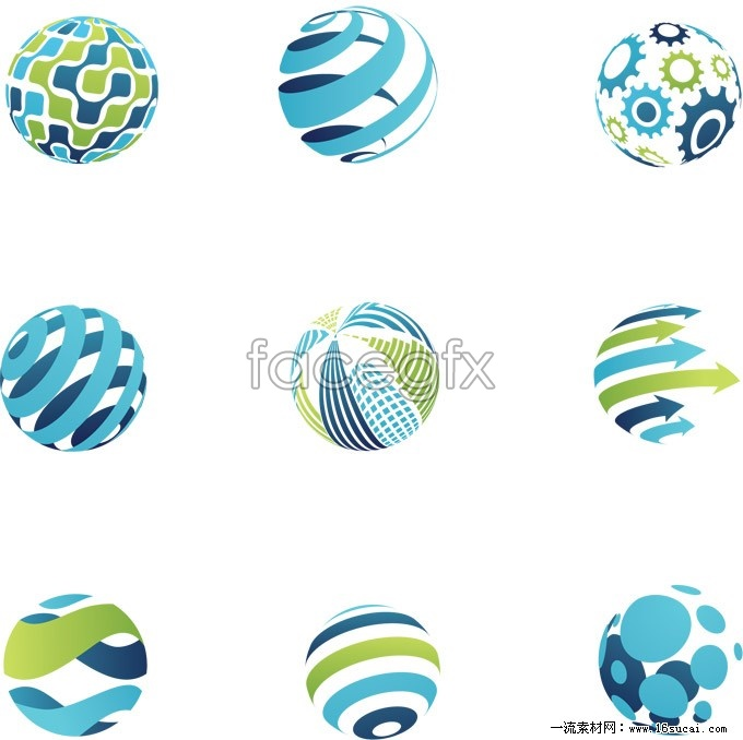 16 Circle Logo Design Vector Images