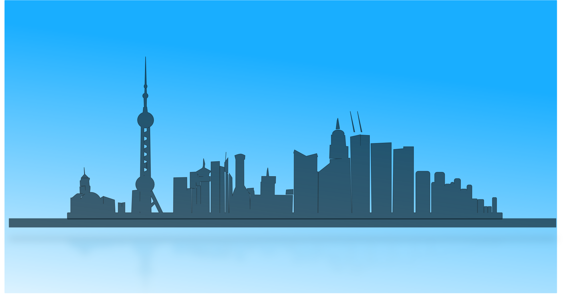 9 China Skyline Vector Png Images