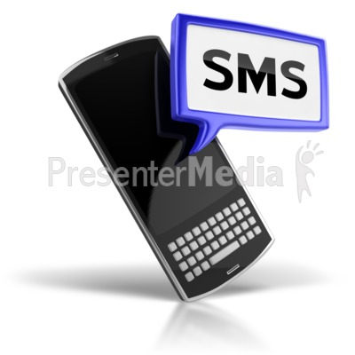 Clip Art of SMS Message Icon