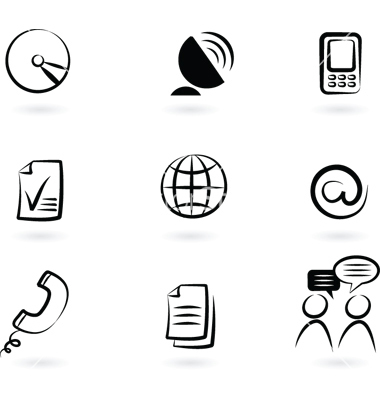 Communication Technology Icons