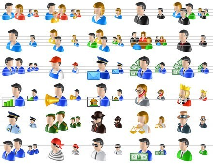 10 Main Person Icon Images