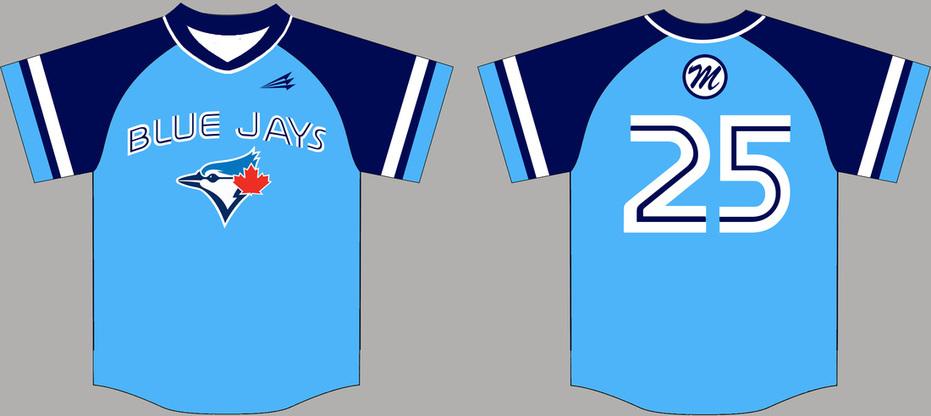 Custom Baseball Jerseys Template