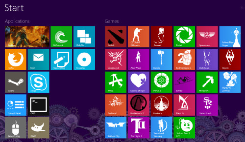 10 Custom Windows 8 Tile Icons Images