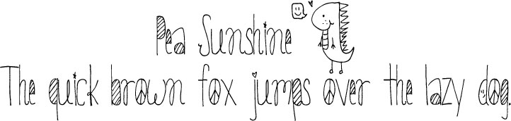 Cute Handwriting Fonts
