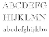 5 Engraving Font Styles Images