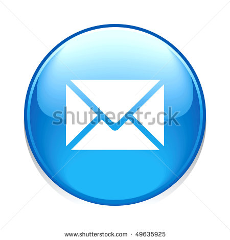 Email Icon Blue Circle