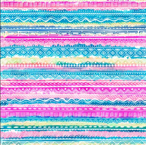 Ethnic Border Pattern