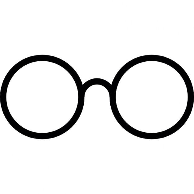 Eye Glasses Outline