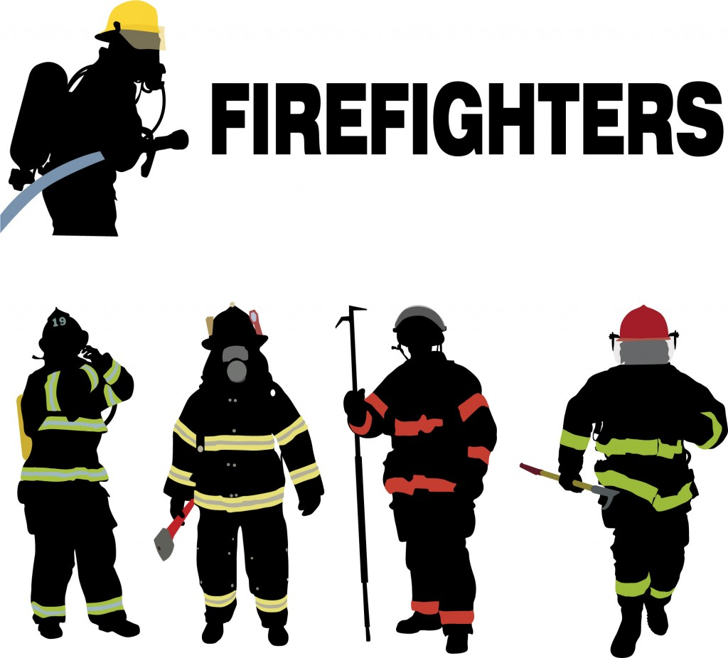 15 Firefighter Vector Graphic Images - Firefighter Vector Art, Fire ...