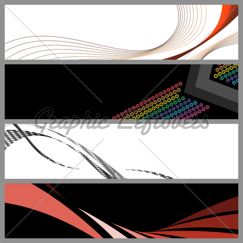 10 PSD Web Banner Templates Images