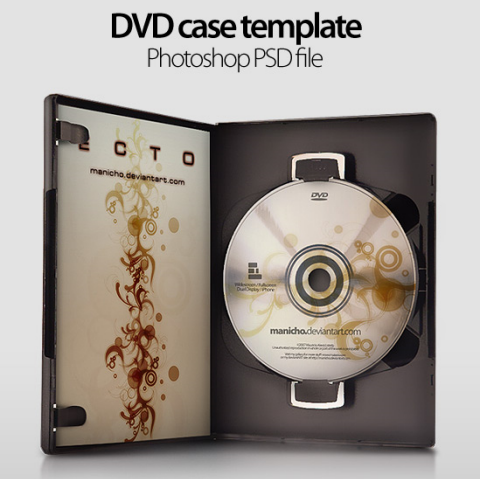 12 PSD DVD Template Actual Images