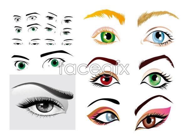 Free Eye Vectors