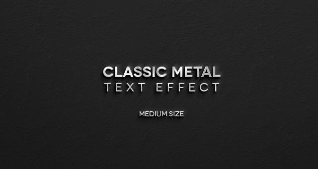 17 Metal PSD Fonts Images