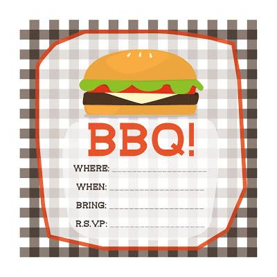 Free Printable BBQ Invitations Template