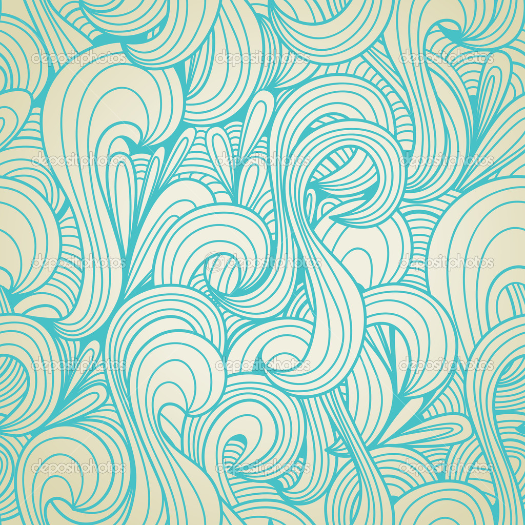 Free Seamless Pattern Vector Swirls