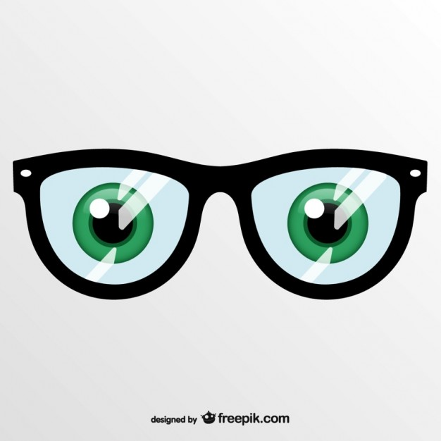 6 PSD Eye Glasses Images