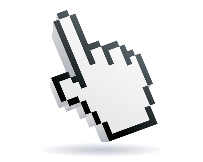 Free Vector Mouse Hand Cursor Image