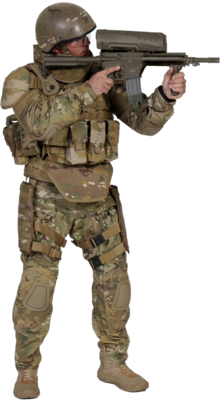 6 PSD Soldier Girl Images