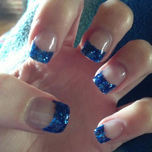 Glitter Acrylic Nail Designs Ideas