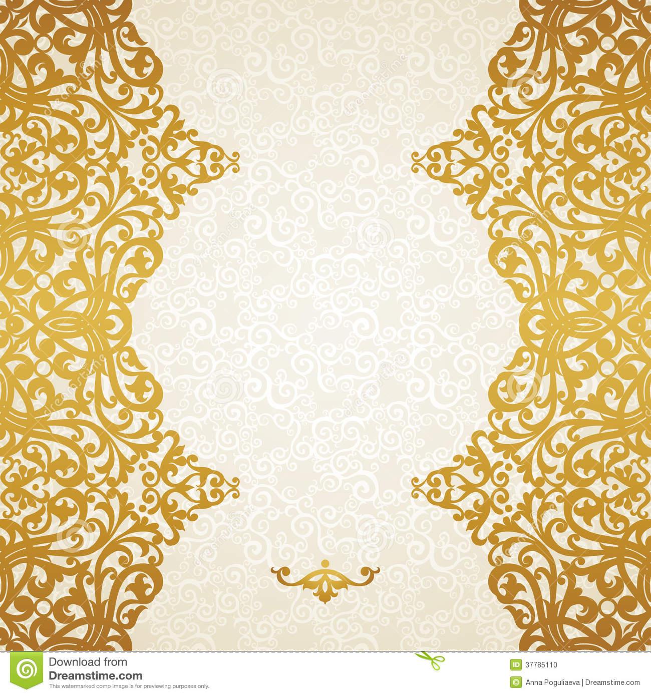Gold Victorian Border Designs