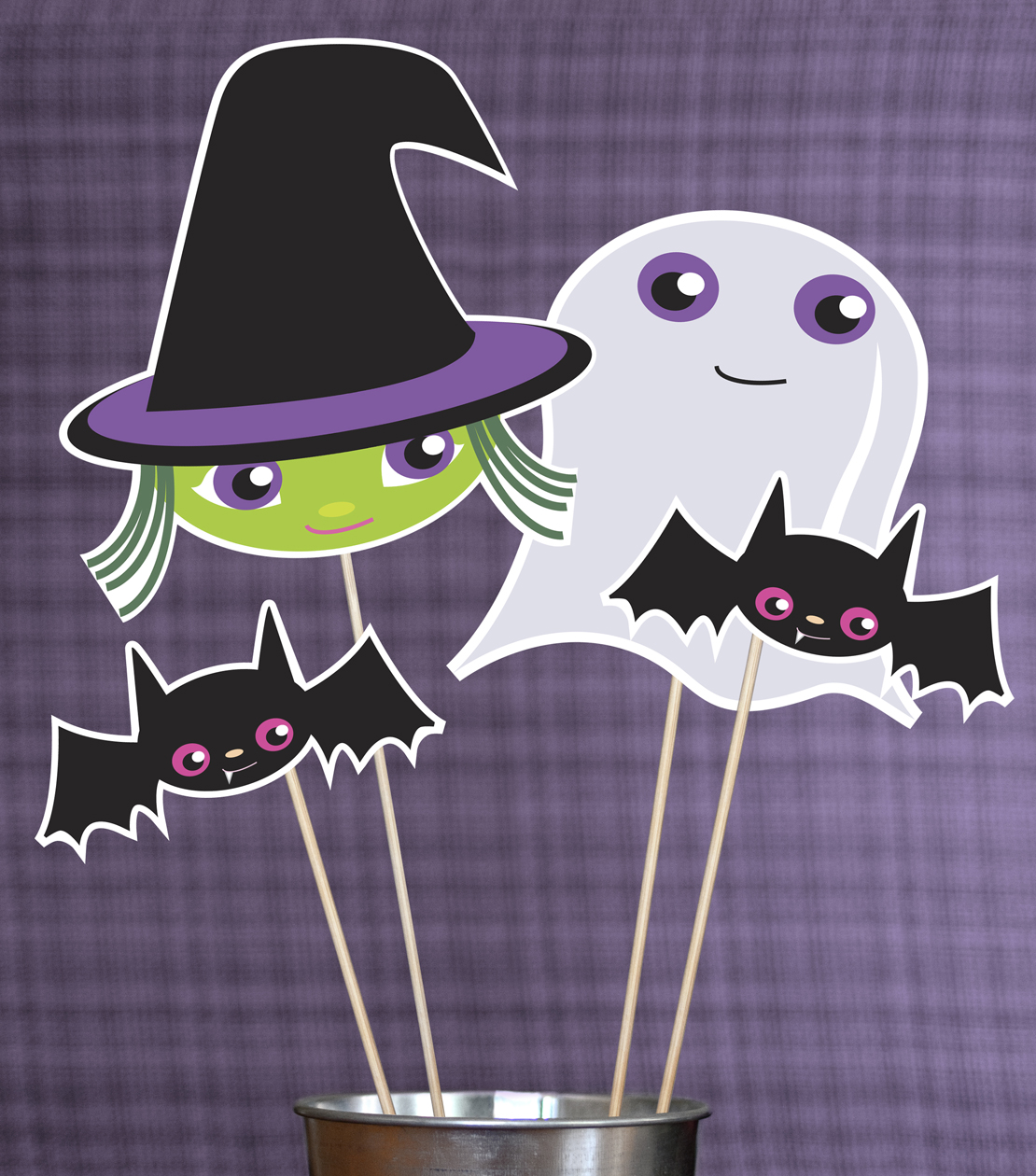 Halloween Booth Props Printable