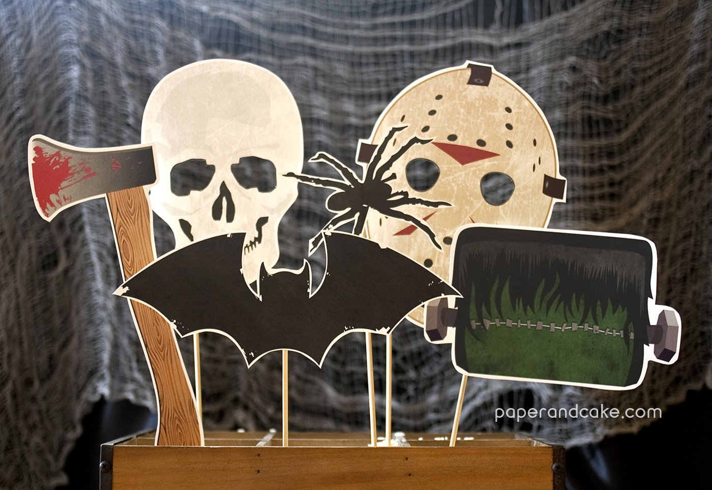 Halloween Photo Booth Props Printable