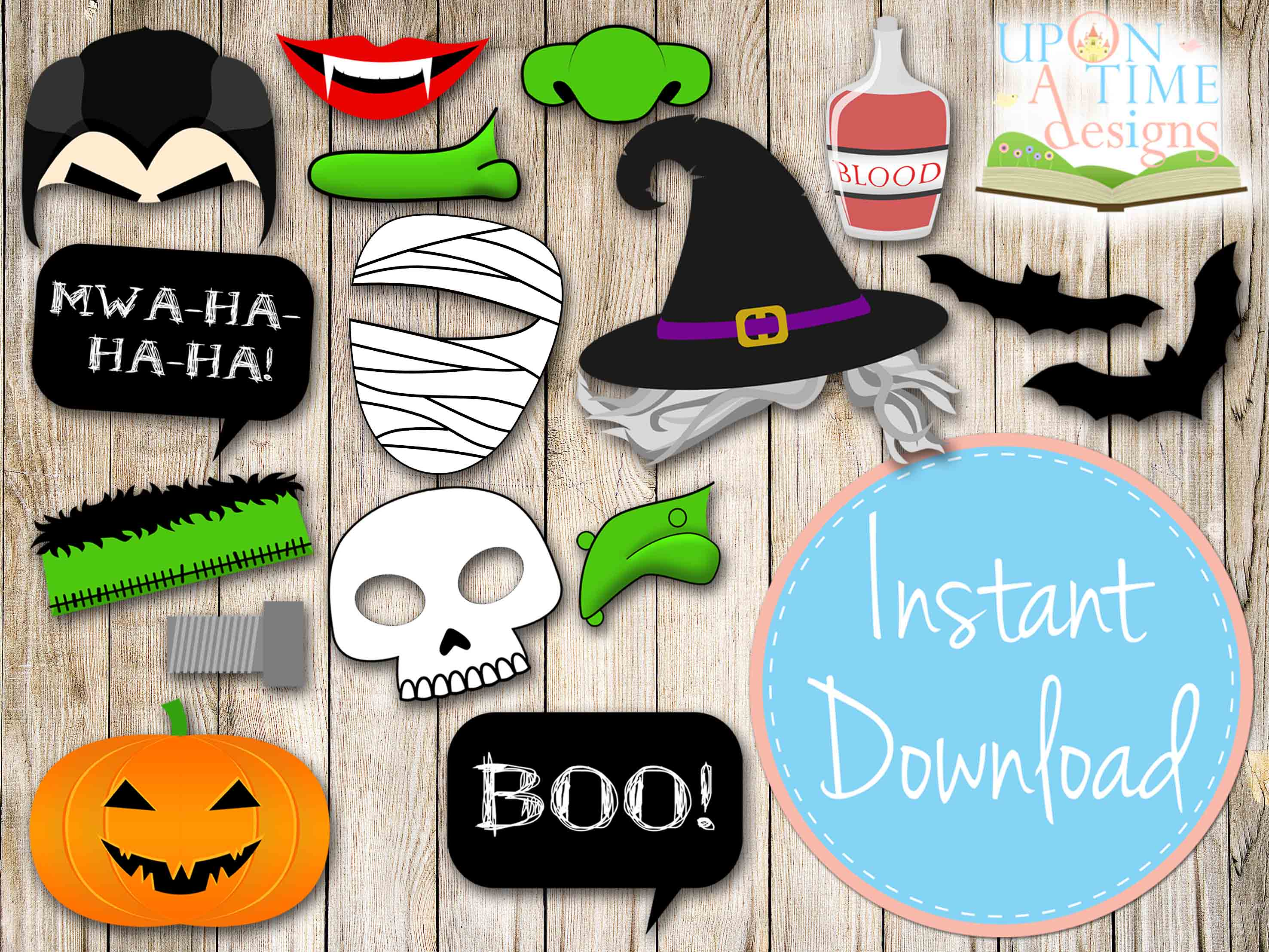 It's just a graphic of Old Fashioned Halloween Photo Booth Props Printable Free