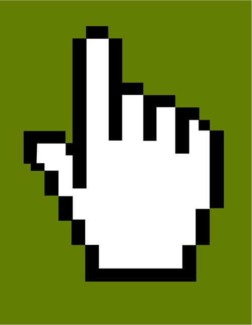 Hand Cursor Icons Vector