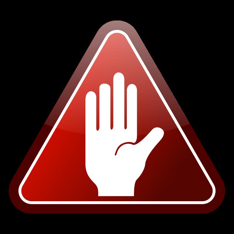 Hand Icon Clip Art