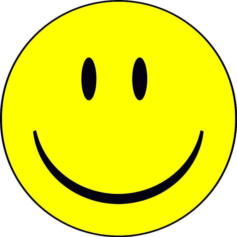 Happy Smiley Face Emoticon