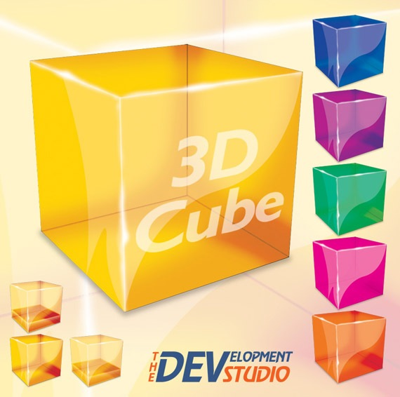 How to Make a 3D Cube in Photoshop