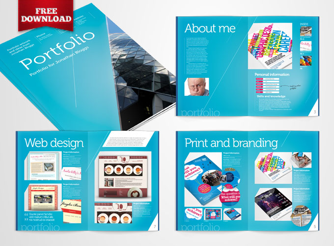 18 Free Downloadable InDesign Layout Templates Images - Adobe ...