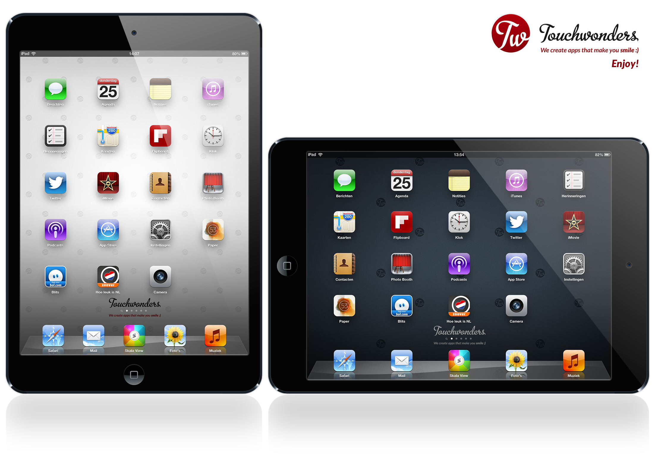 16 Horizontal IPad Template PSD Images