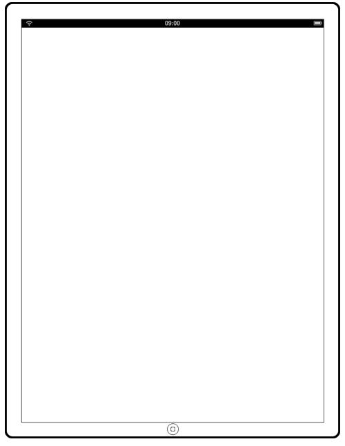 iPad Photoshop Template