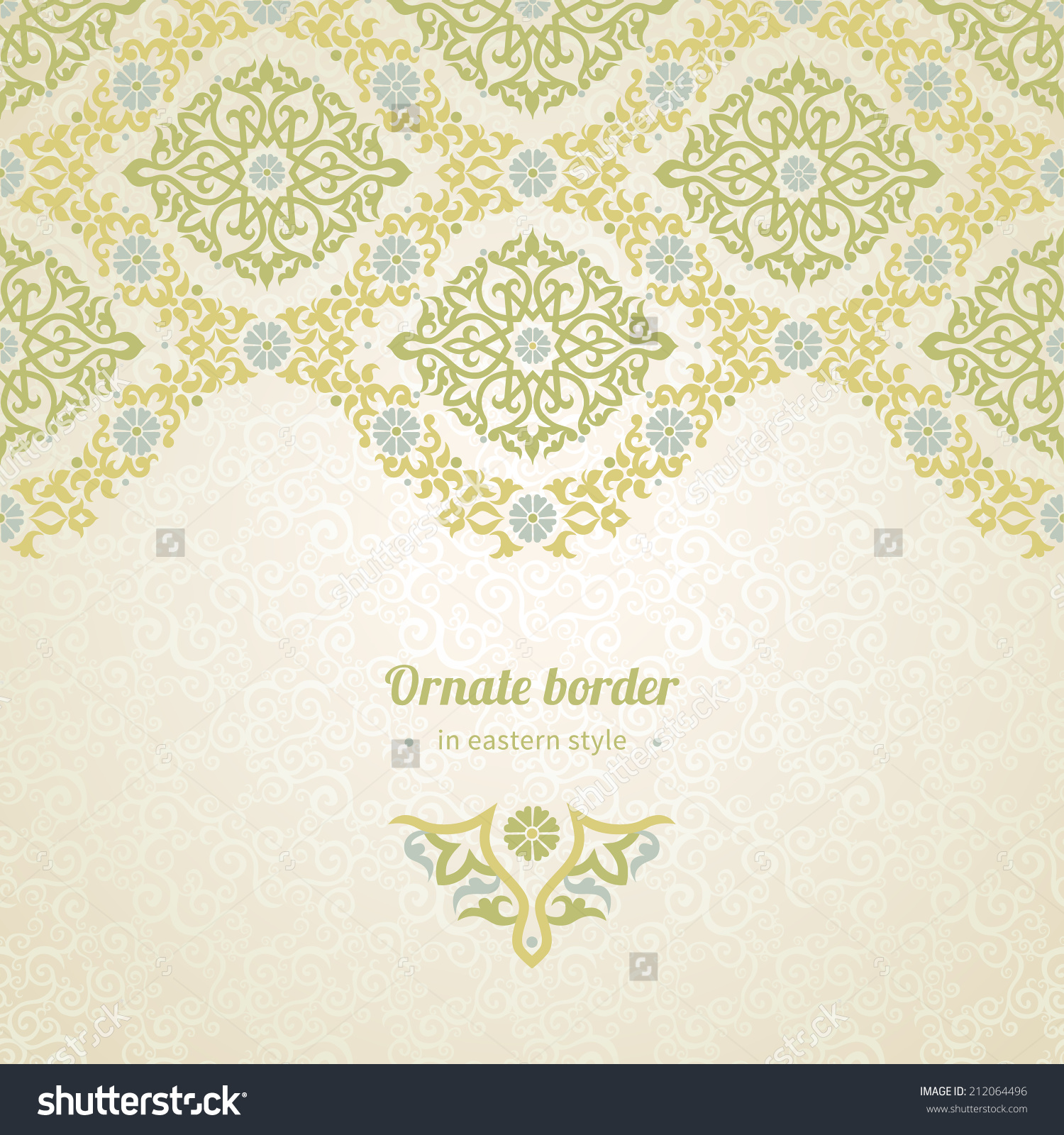 Lace Text Border