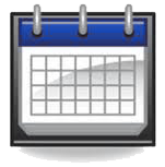 10 Calendar Icon PNG Gray Images